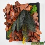 Tablo'Nature Orange Eucalyptus 30x30cm