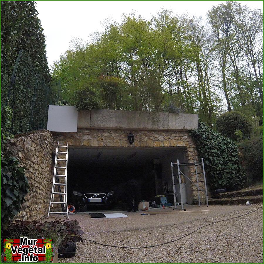 etape mur vgtal extrieur flowall with mur vegetal exterieur. Black Bedroom Furniture Sets. Home Design Ideas