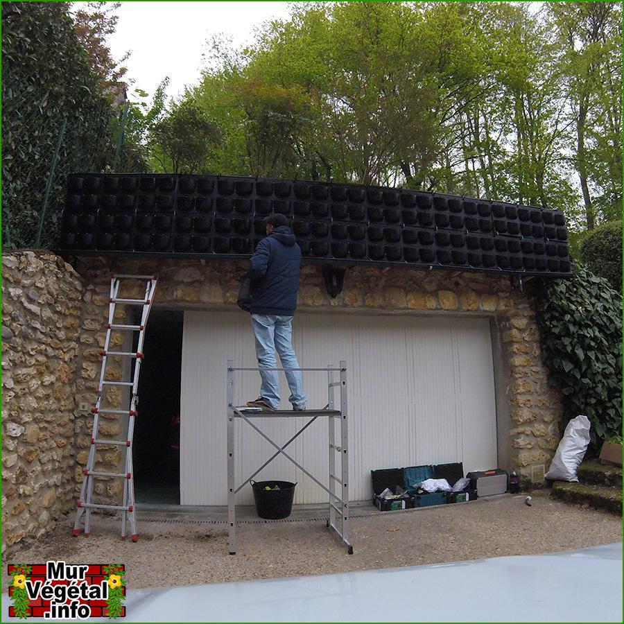 Mur vegetal extrieur simple beau mur vegetal exterieur pas cher mure vegetale exterieur elegant - Fabriquer un mur vegetal ...